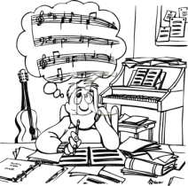 thinking music